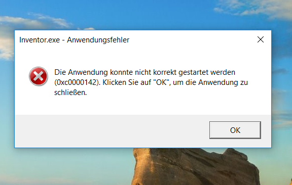 Solved  Problems With Starting Inventor 2014  Windows 10