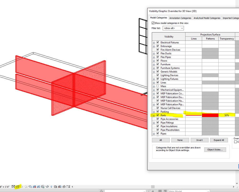 Parts And Material Takeoffs Autodesk Community Revit Products The Can Be Identified Through Formula Shown In Diagram Go To A 3d View Override Part Category Something Popping Out So That You Identify Non Elements Select Them Add Some Comments