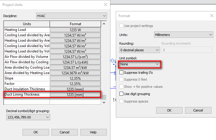 Solved How To Remove Units In Duct Free Size Tag Autodesk