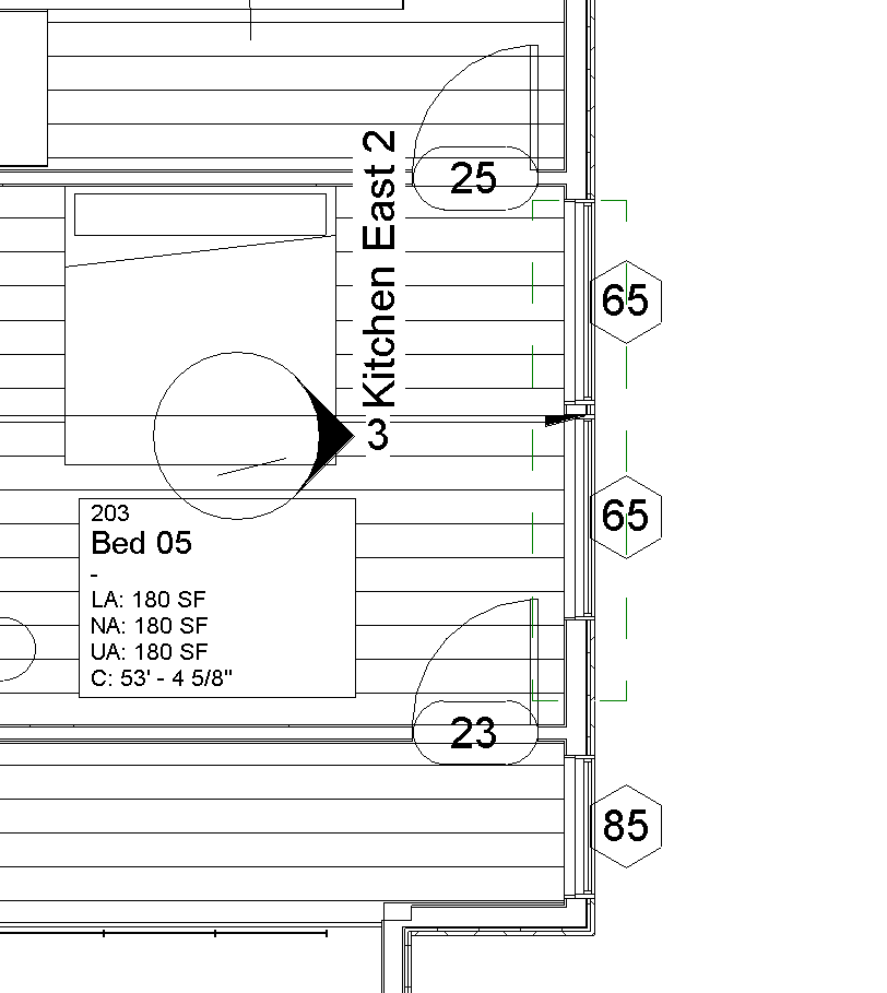 Elevation Marker Plan : Solved interior elevation markers from first floor show