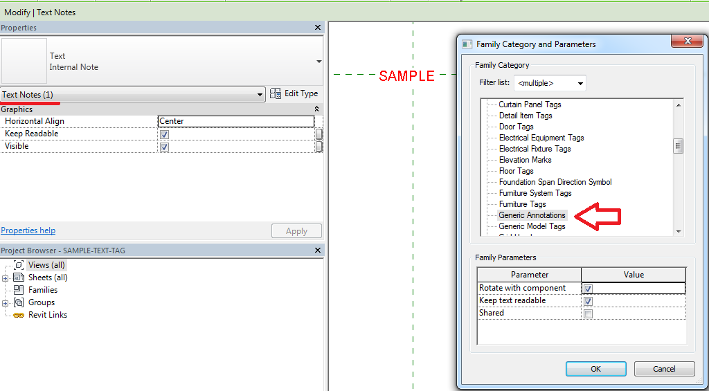 Solved Detail Item No Text Showing In Project Autodesk