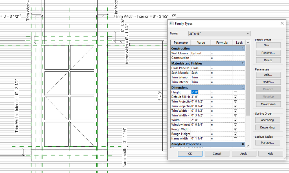 Window does not keep its top frame width - Autodesk Community- Revit ...