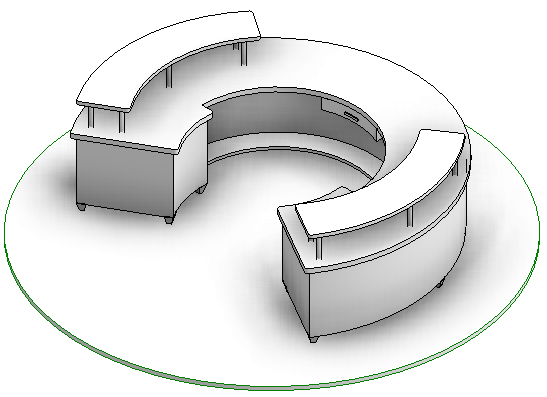 Solved How To Create Circular Desk Without Void Extrusion Autodesk Community Revit S