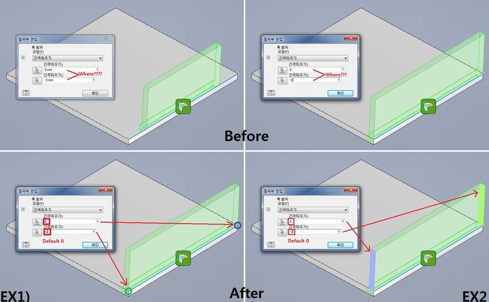 Inventor Sheet Metal Flange Bend Edit Offset Autodesk Community