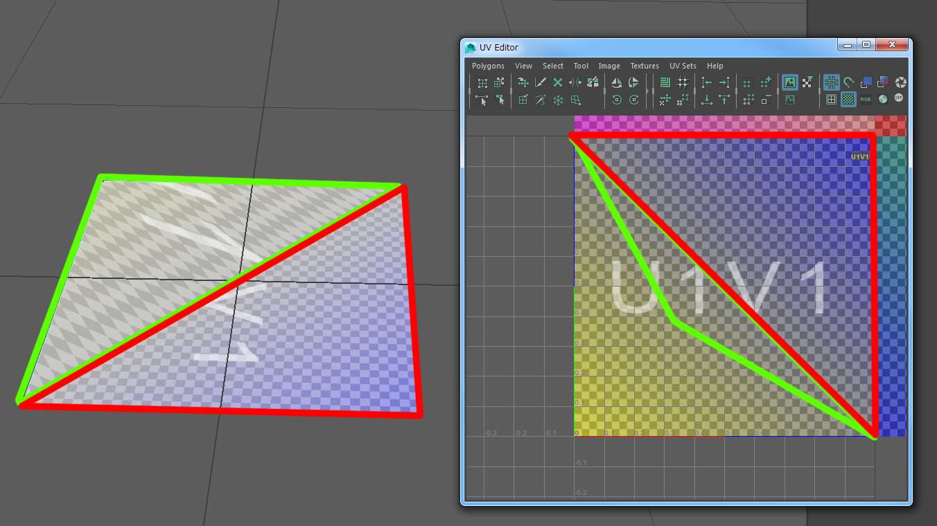 Have a mesh assume the flat shape of its UV layout