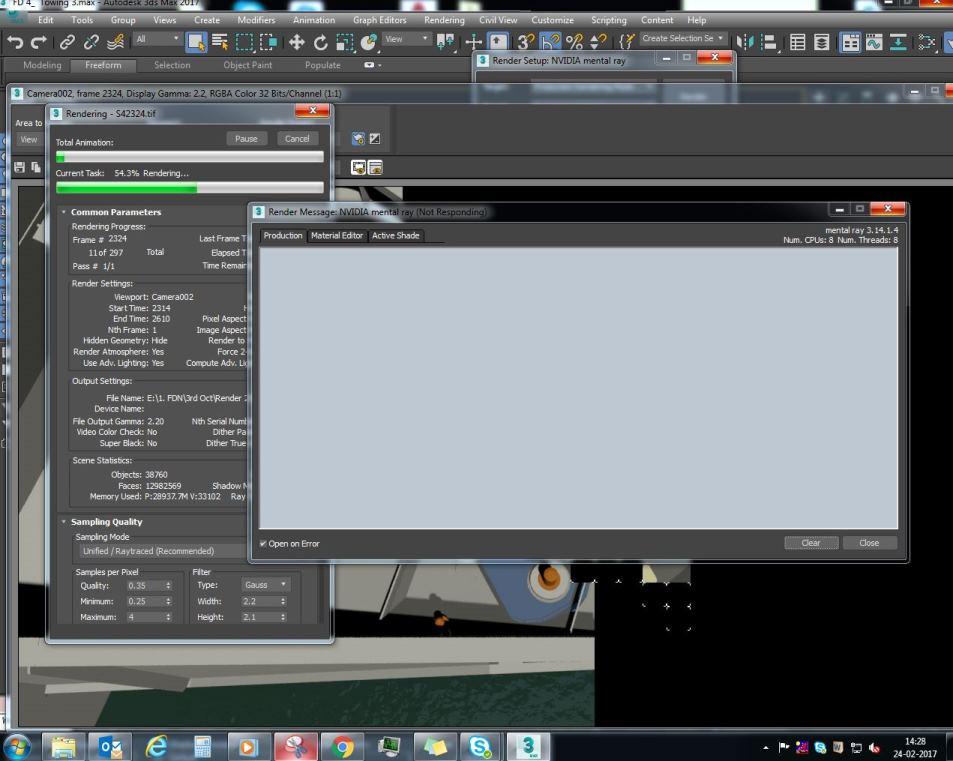 MR Crashing During Render - Autodesk Community- 3ds Max