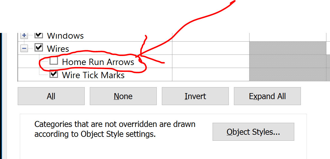 Solved: How to remove the arrow that symbolizes the connection of a ...