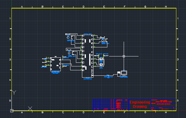 autocad  electrical title block implementation.  autodesk, electrical drawing