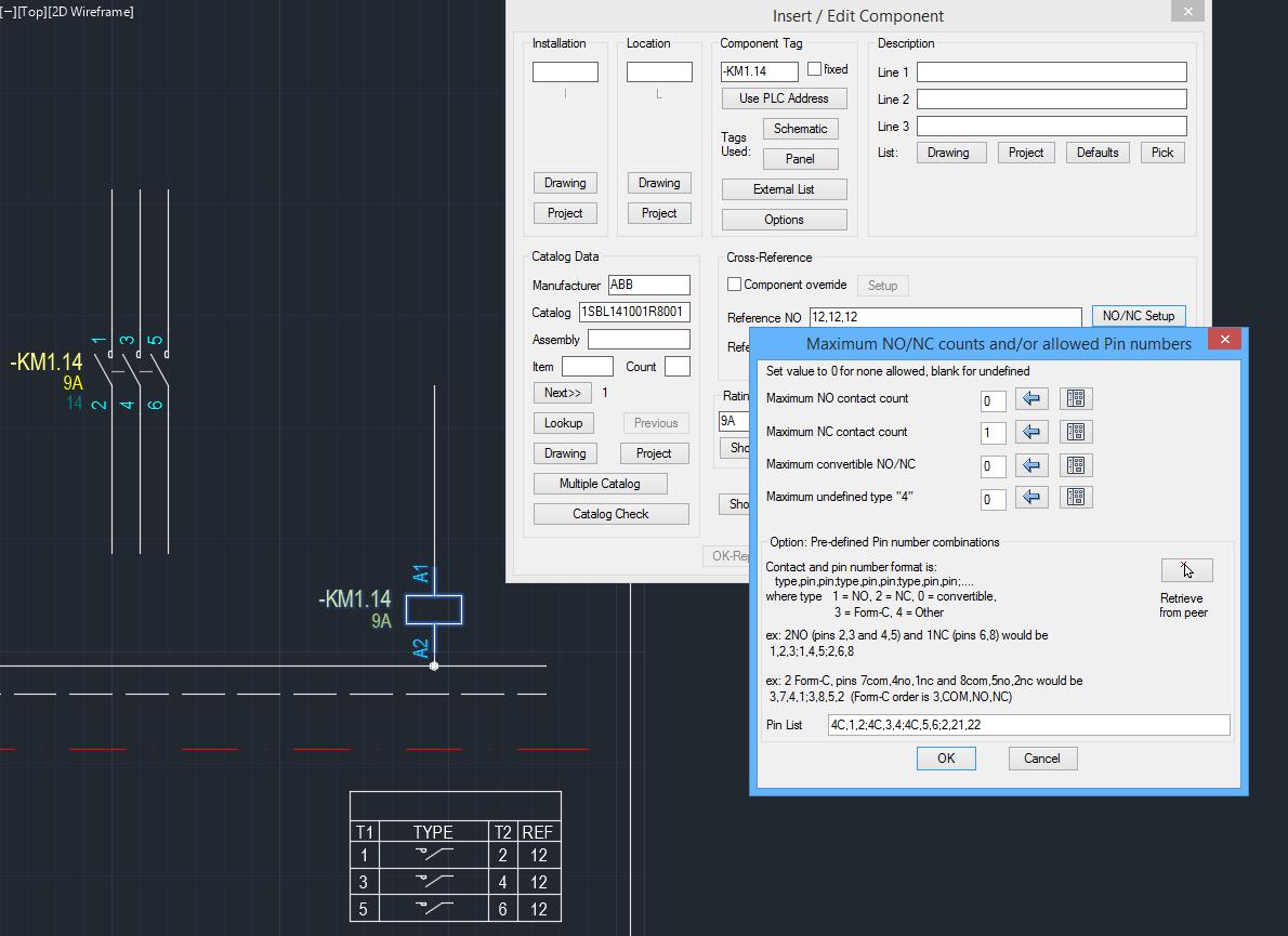 Custom Contact Type Autodesk Community Autocad Electrical Symbol Besides Symbols Additionally Relay