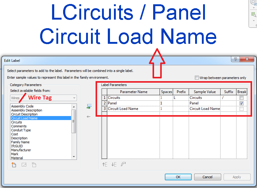 Solved: Circuit tagging - Autodesk Community- Revit Products