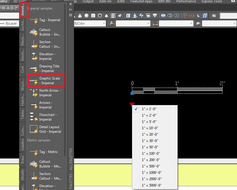 Dynamic scale bar - Autodesk Community- AutoCAD
