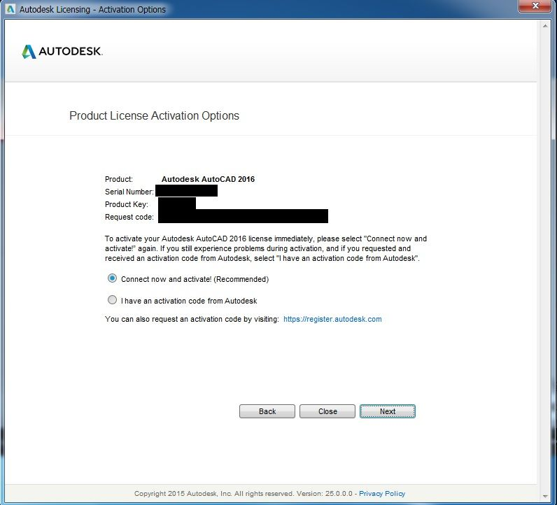autocad 2016 crack serial number and product key