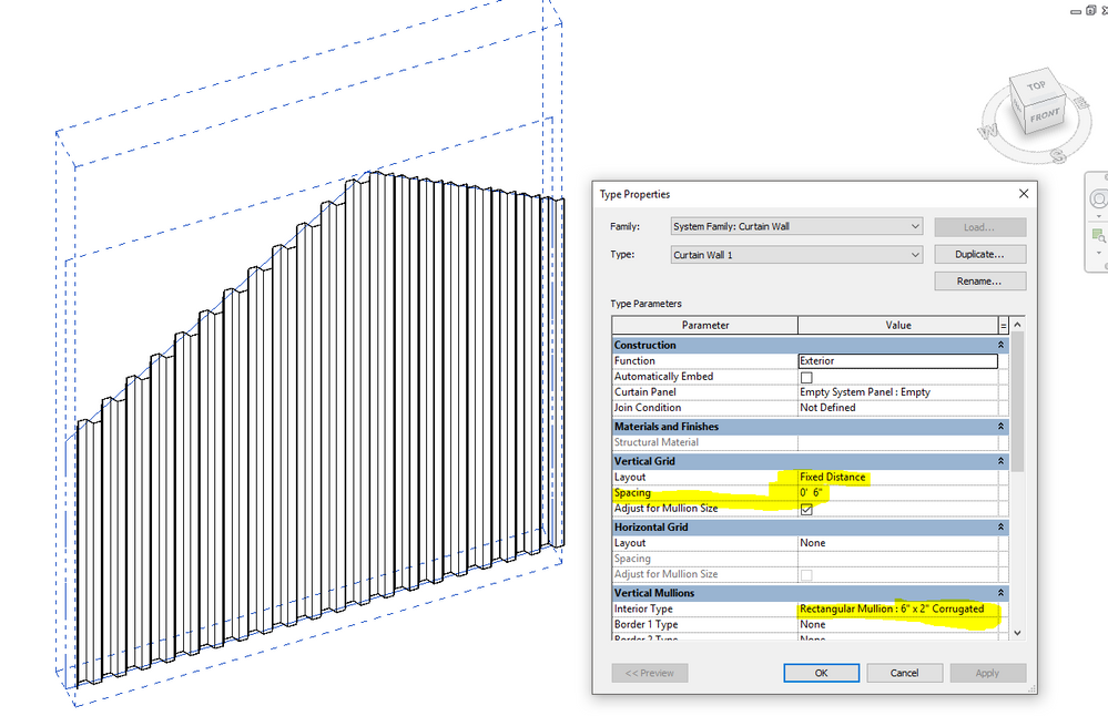 Corrugated Metal Wall Revit - Rugs Ideas