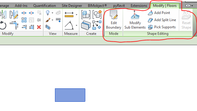 Missing Shape Editing Tool Autodesk Community Revit Products