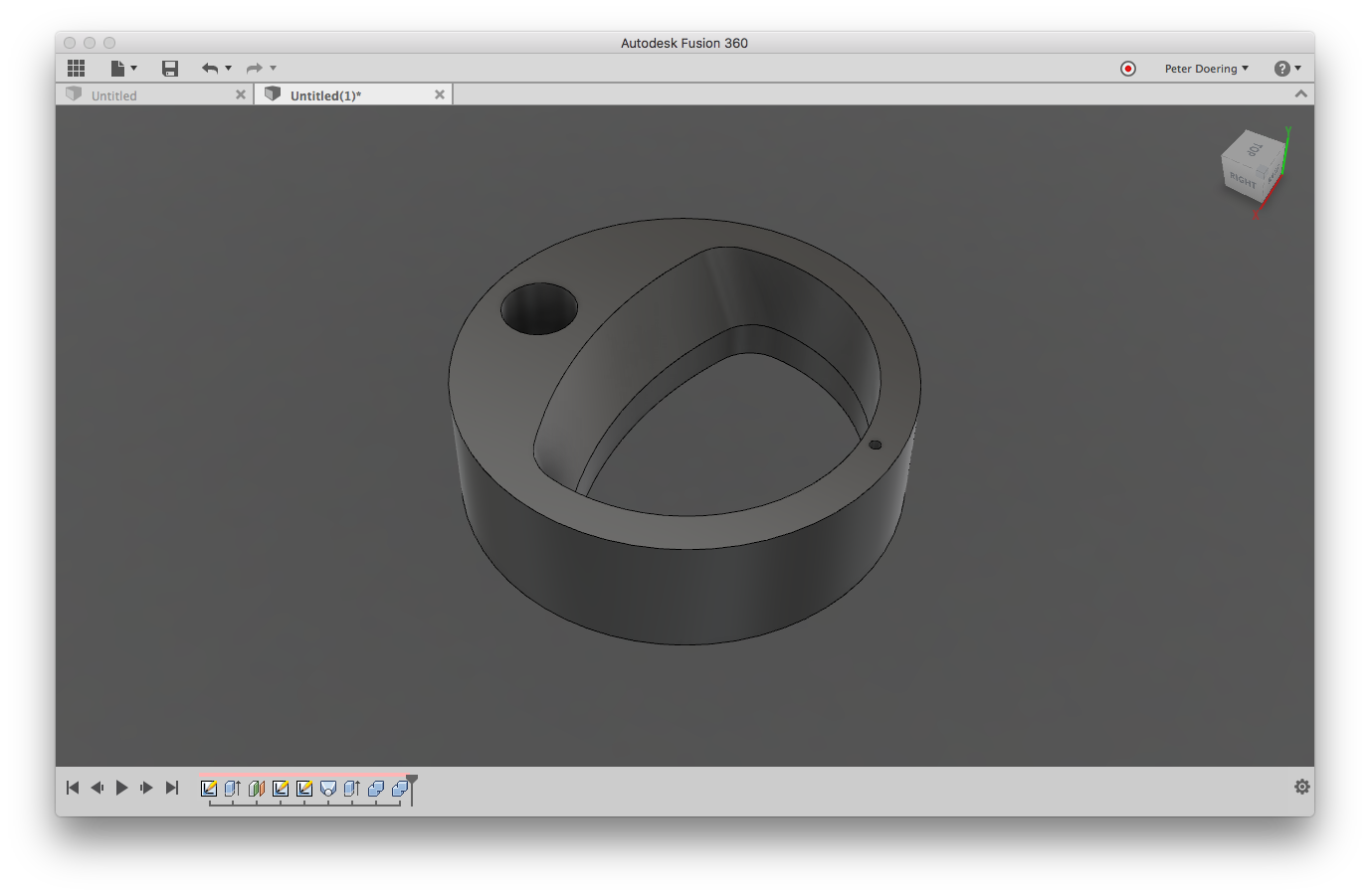 Solved How To Make A Complex Incline Surface To Split A Body Autodesk Community Fusion 360