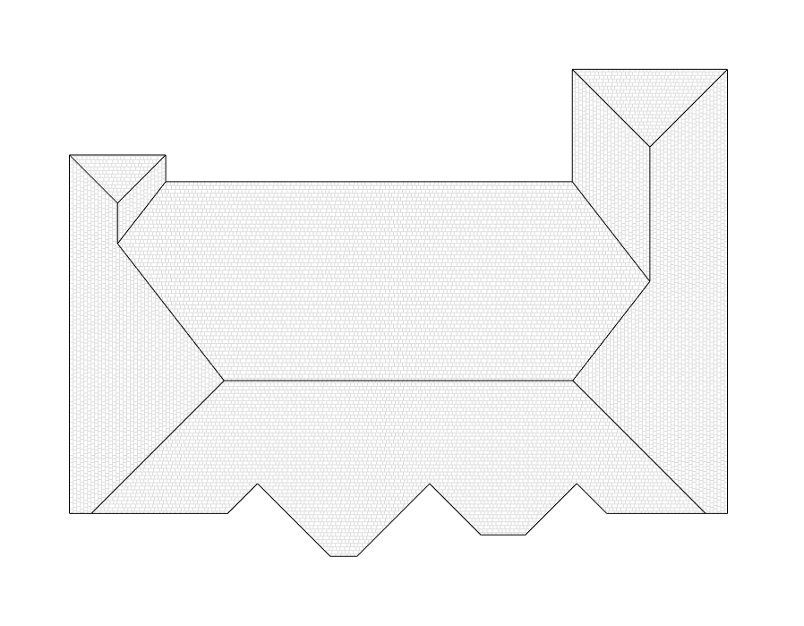 Roof Face Incorrectly Split Into 3 Faces Autodesk Community Revit Products