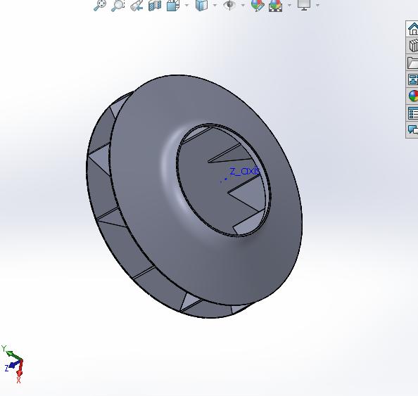 Centrifugal Fan Simulation Autodesk Community Cfd