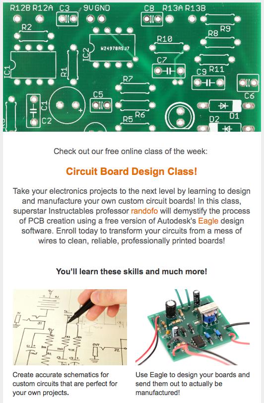 Circuit Board Design Class - Autodesk Community- Fusion 360