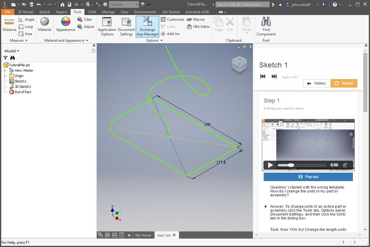 solved tutorials no video inventor 2018 autodesk community inventor rh forums autodesk com AutoCAD Tutorial Autodesk 2013 Tutorials