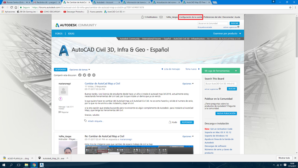 Cambiar De Autocad Map A Civil Autodesk Community International Forums