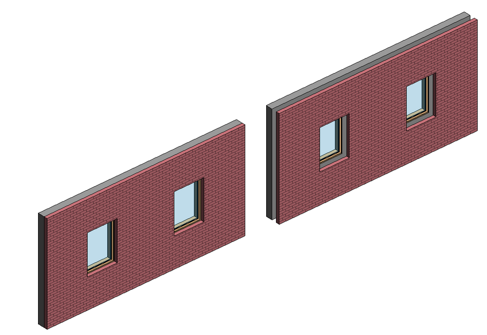 Cool Simply join the existing stud walls with the new exterior skin per KarolPiroska suggestion and the existing windows will cut through both of them Fresh - Simple cutting a door opening in an exterior wall Top Search