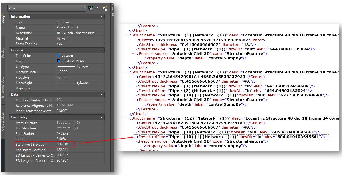 xml file autodesk community civil 3d