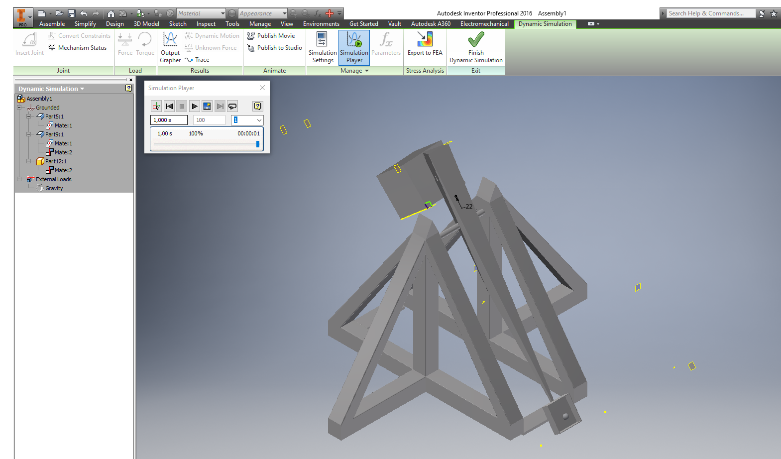 Help With Simulation Catapult Trebuchet Autodesk Community Diagram Of Our Inventor Products