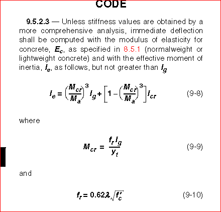 This Is Not Correct The Formula I Used Its According To ACI 2011 Metric  Code In Metric Unit.the Formula You Showed Me On The Picture Is According  To ACI 99 ...