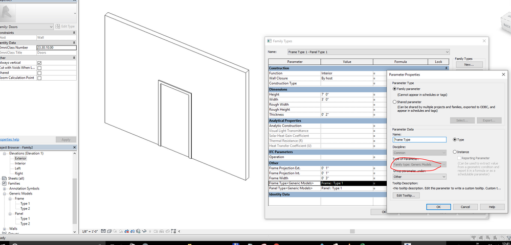 Autodesk VIRTUAL AGENT | Revit IDEAs | Revit FORMULAs | Revit DYNAMO | BIMobject (aka Seek v2) Feeling offended for no reasons? TRY THIS - Not working?  sc 1 st  Autodesk forums & Solved: Family - Parametric door families - Autodesk Community ...
