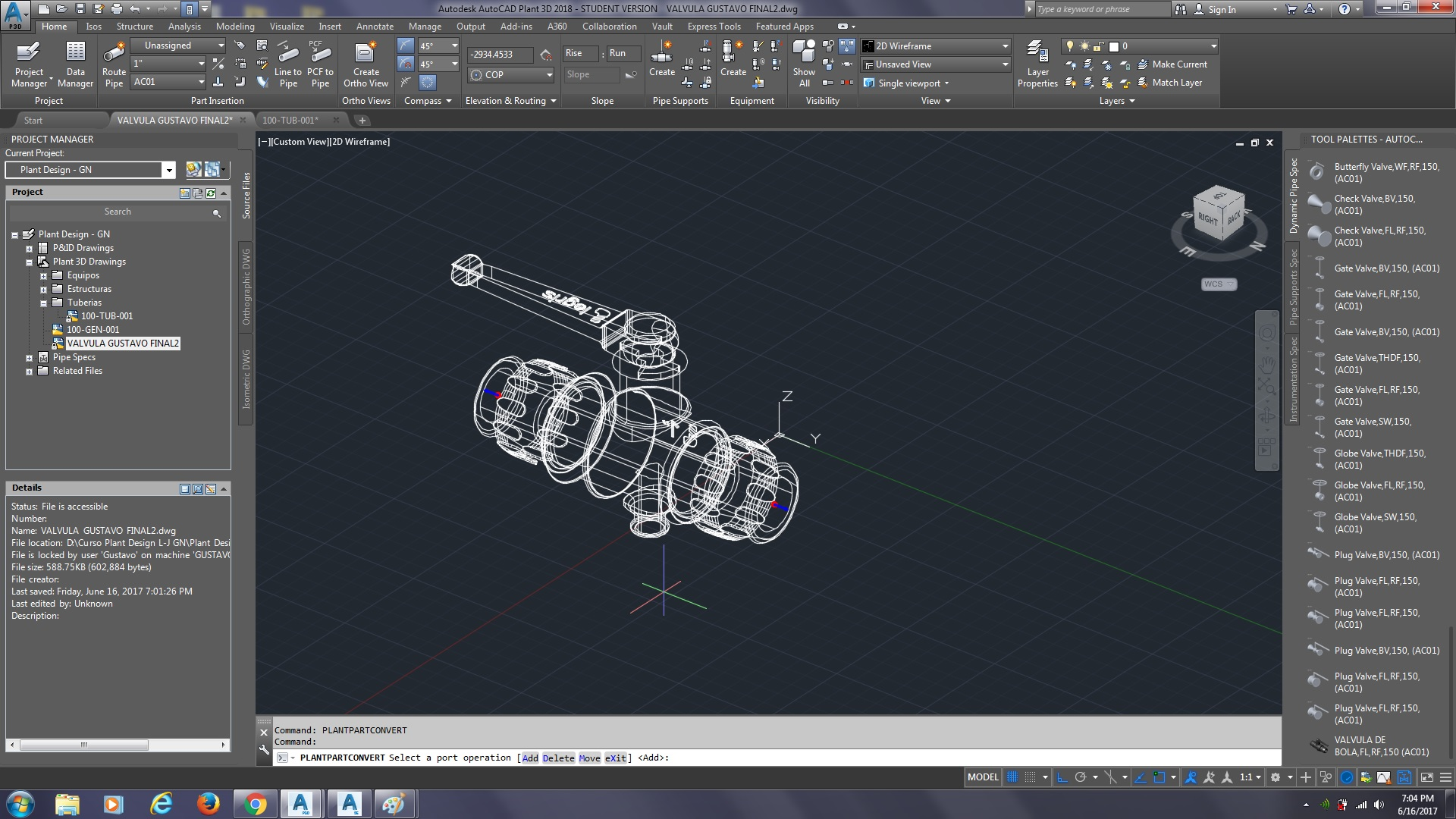 PROBLEM OF SCALE WITH SPEC EDITOR IN AUTOCAD PLANT 3D 2018