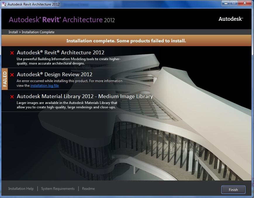 Autocad Revit Architecture Suite 2012 64-Bit