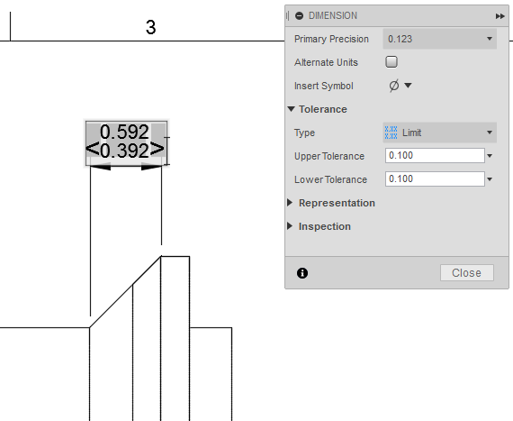 Solved 2d Drawings Dimension Tolerance Problem Autodesk
