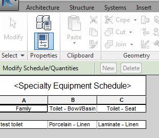 解決済み toilet accessory schedule does not show up the finish of