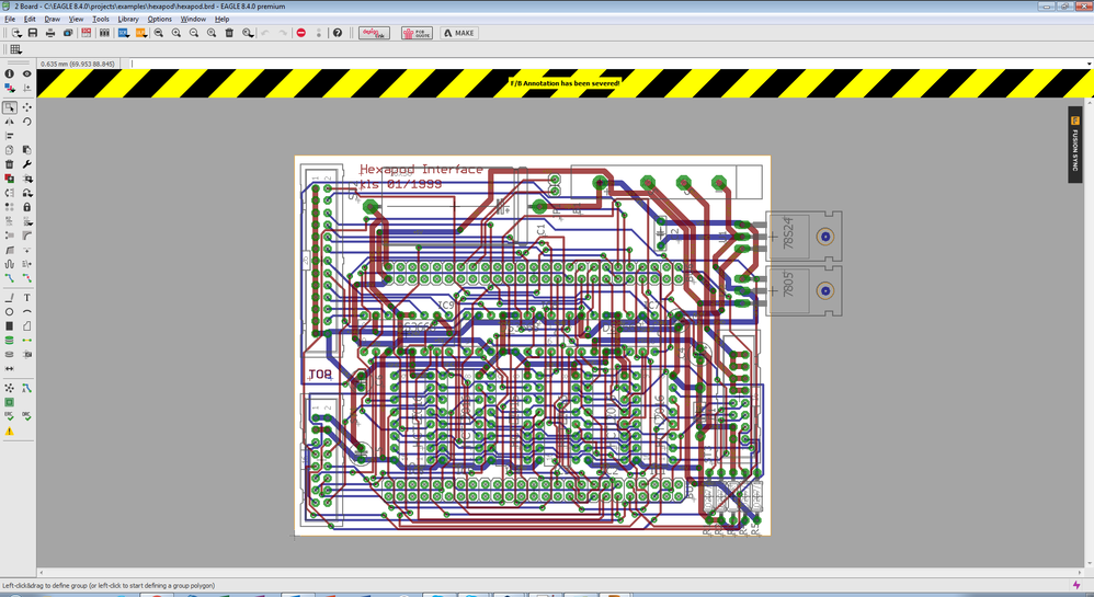 Imported a schematic and now board/schematic aren\'t consistent ...