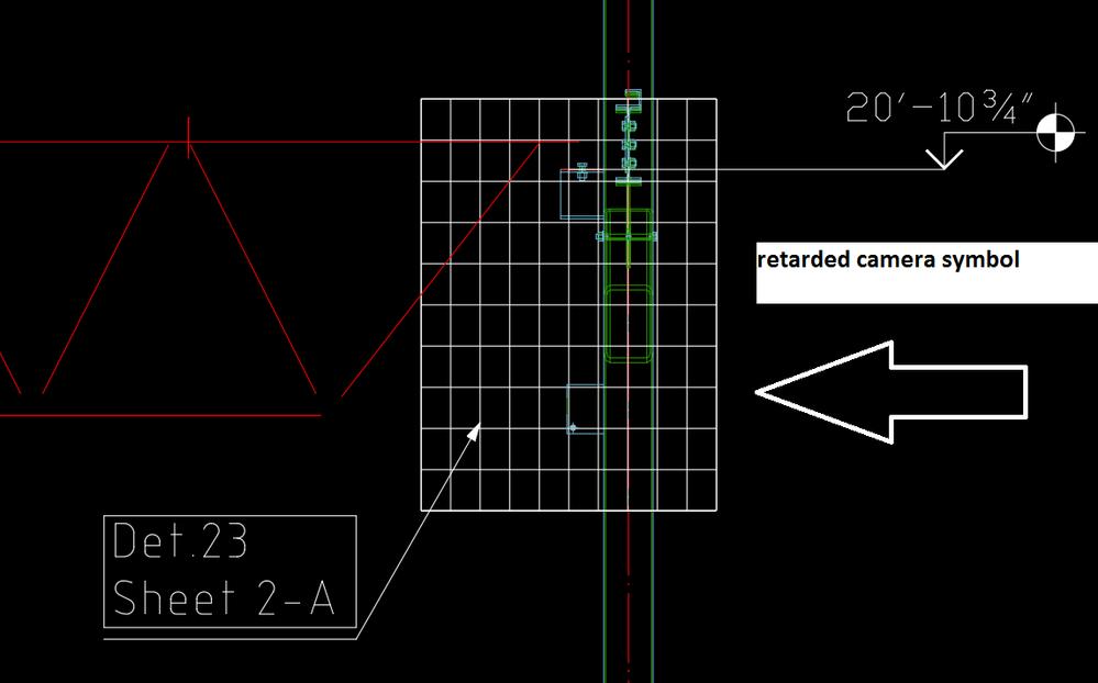 Rectangular Camera Symbol Autodesk Community Advance Steel