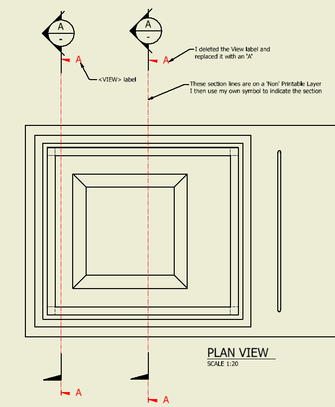Place Section View Line Without Creating A View Autodesk Community