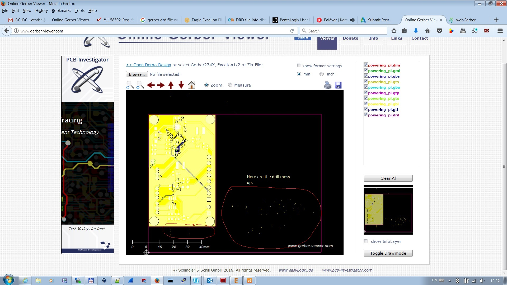 Solved: Wrong drill positions show in some Gerber viewer - Autodesk ...