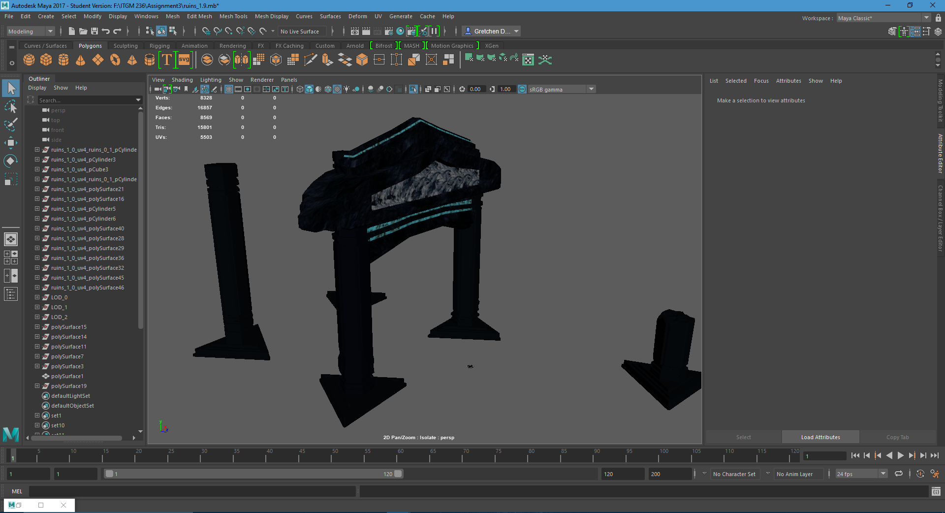 How to remove smoothing (flat shading) and preserve when