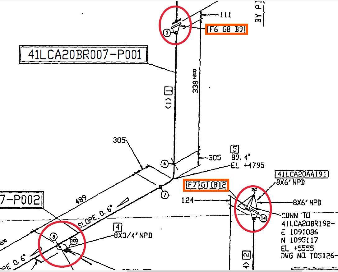 Solved Isometric Pipeline Plane Understanting Autodesk Community