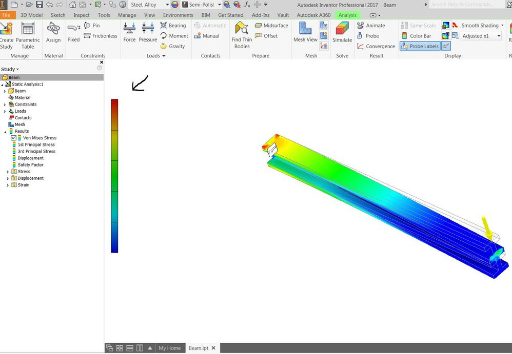color bar value missing autodesk community inventor