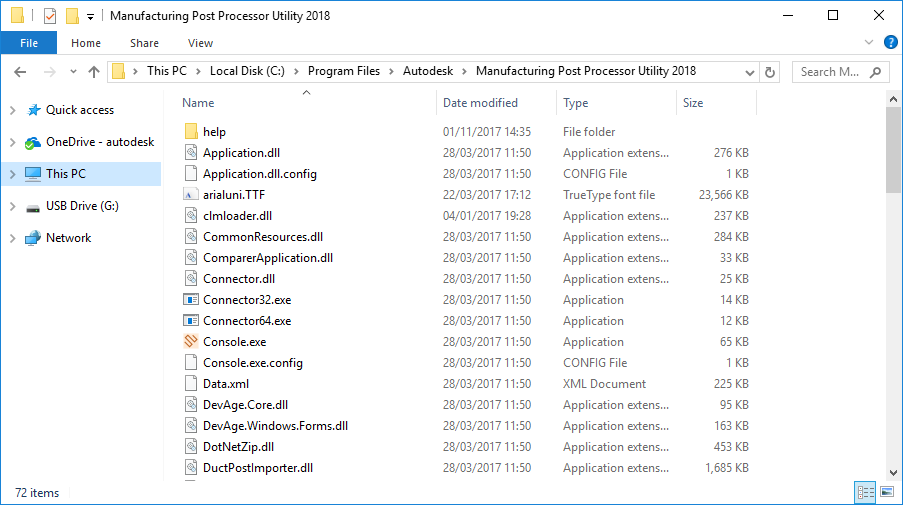 solved no 2017 post processor files with 2018 autodesk community