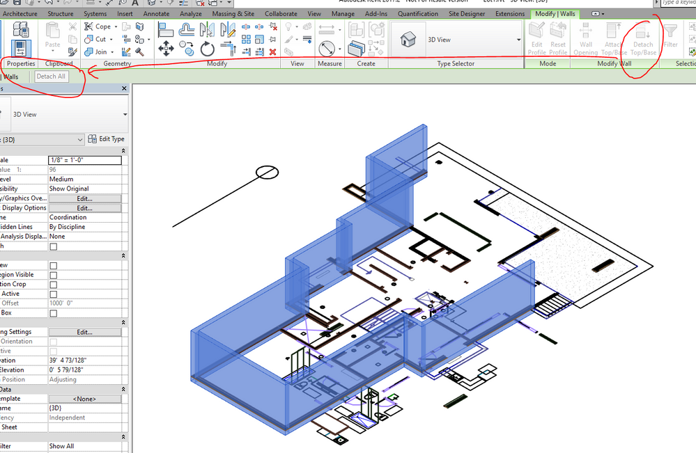 Wall Heights Will Not Change Autodesk Community Revit Products