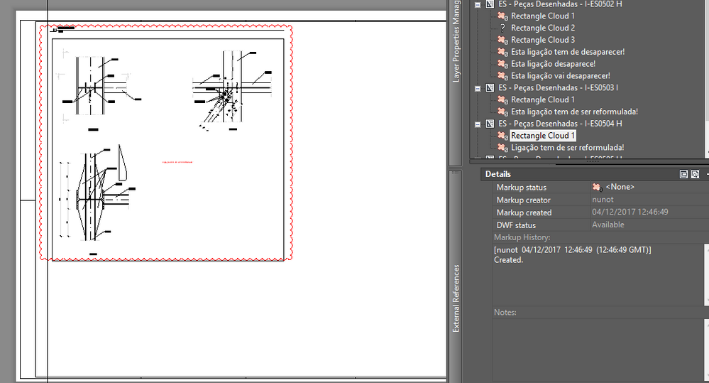 Solved markup redline geometry gone autodesk community autocad but if i run the comand refresh re the redline geometry is gone and i cannot turn it back on see the image below ccuart Image collections