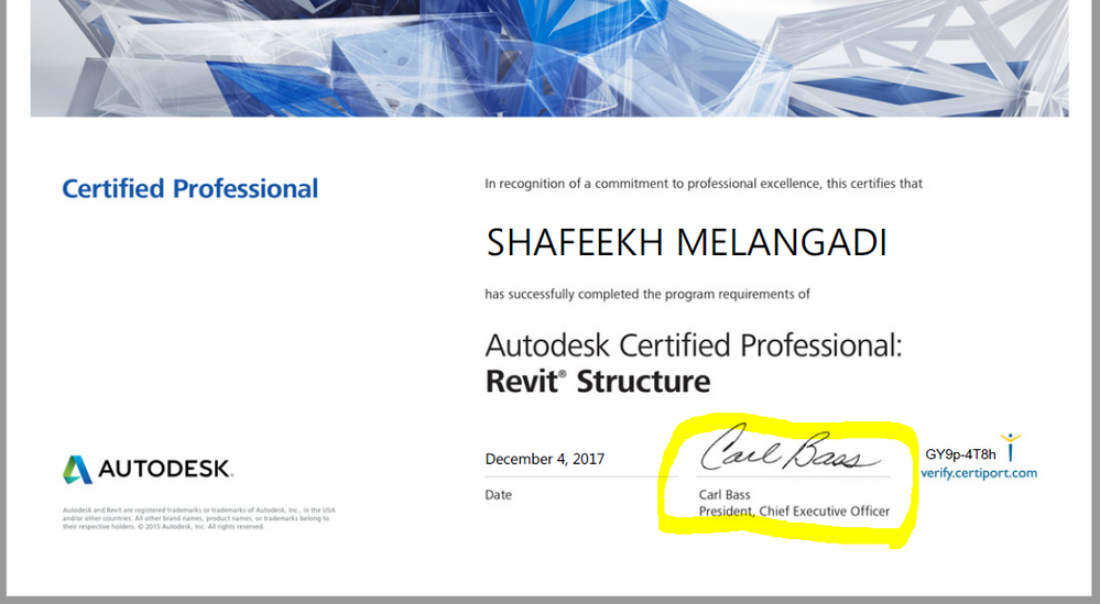 Solved: Error in Revit Certificate - Autodesk Community ...