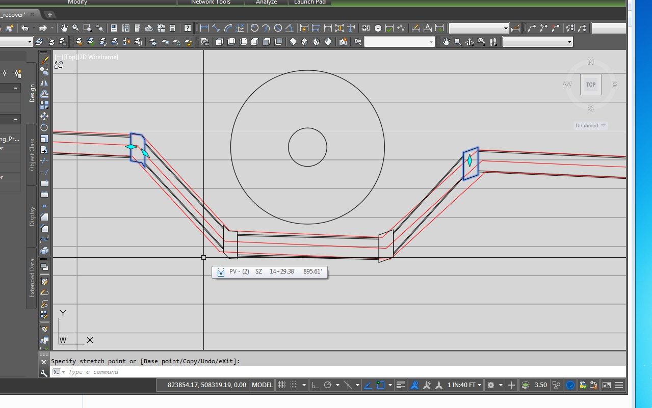 Connect Align Pressure Pipe To 45 Deg Vertical Bend Autodesk Piping Layout Tools Community Civil 3d