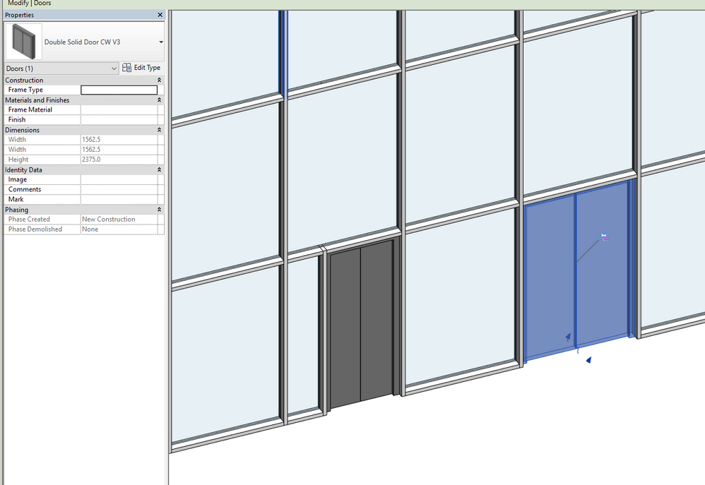 Autodesk VIRTUAL AGENT | Revit IDEAs | Revit FORMULAs | Revit DYNAMO | BIMobject (aka Seek v2) Feeling offended for no reasons? TRY THIS - Not working?  sc 1 st  Autodesk forums & Solved: Curtain Wall Double Doors - Autodesk Community- Revit Products