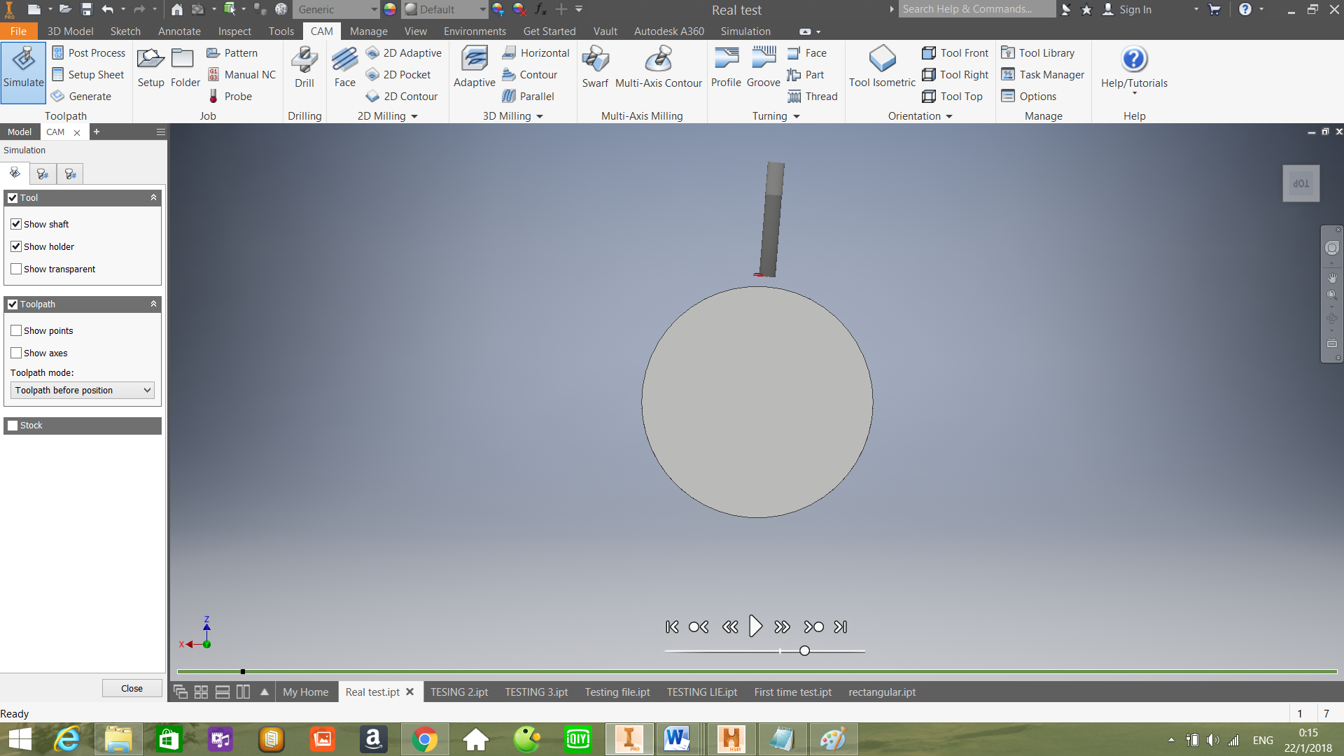 change start milling point and depth cut of every circle autodesk rh forums autodesk com SketchUp Make Solid