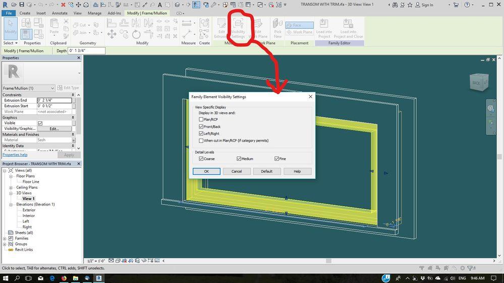 Solucionado: Problemas de visualizacion, ventanas altas - Autodesk ...
