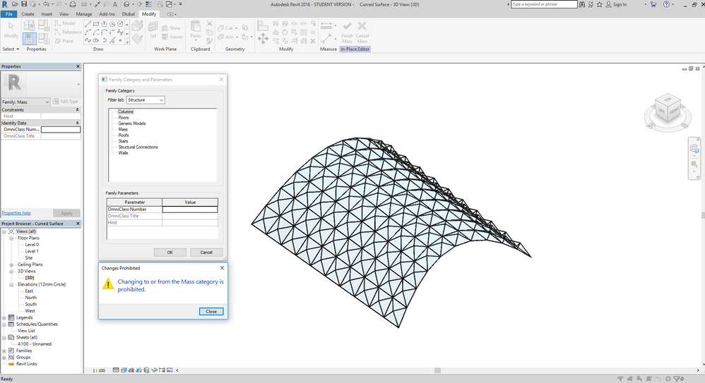 Gelöst: Space Frame Structure - Autodesk Community- Revit Products