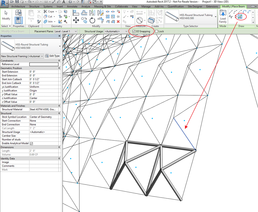 Solved: Space Frame Structure - Autodesk Community- Revit Products